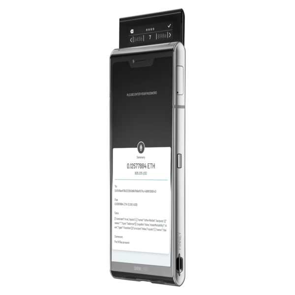 What is a blockchain phone?